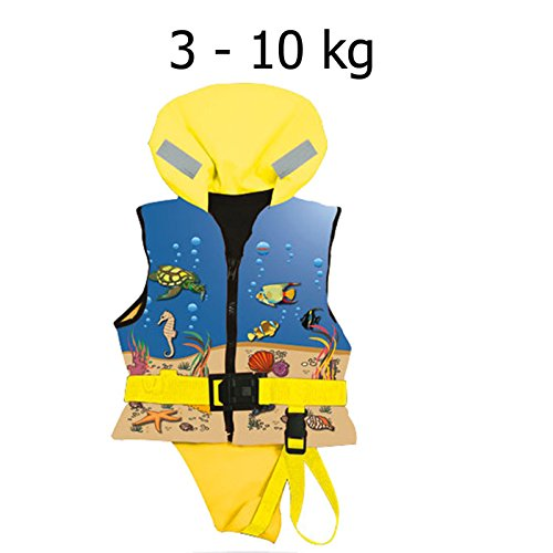 Lalizas Kinder Rettungsweste Kinderschwimmweste Chico 03 - 10 kg 100 N 12402-4