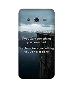 Something You've Never Done Samsung Galaxy Core 2 Case
