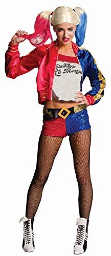 Kostüm Harley Quinn Karneval Halloween Gr.L (Harley Quinn Halloween-kostüm)