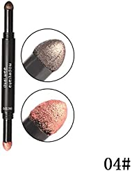ROPALIA Double Tête(Couleur) Coussin D'air Crayon Fards à Paupières Durable Bâton Stick Ombre à Paupières Nacré