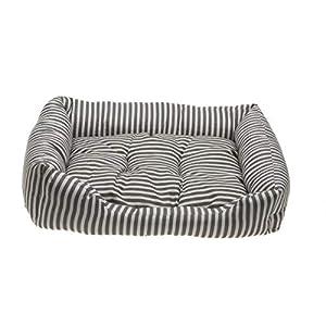 Comfy® Stripes M Hundebett mit Kissen Hund Katze