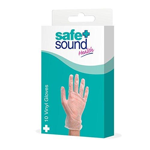 Safe & Sound 10 Gants en vinyle