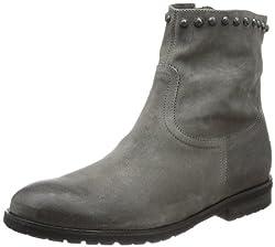Kennel und Schmenger Schuhmanufaktur Damen Stone Cowboy Stiefel, Grau (granit), 38 EU