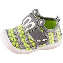 Berimaterry Zapatos de bebé, Zapatillas de bebé niño Bebé Prewalker Zapatos Auxma Primeros Pasos para