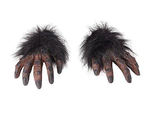 Imagen de home and leisure online  guantes peludos para disfraz de hombre lobo alternativa