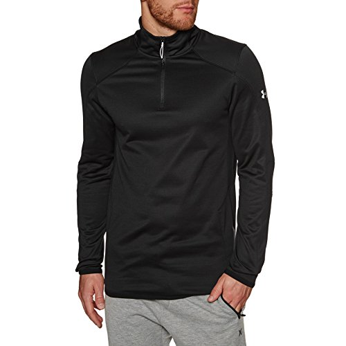Under Armour ColdGear 1/4 Zip Reactor Training Fleece - Black
