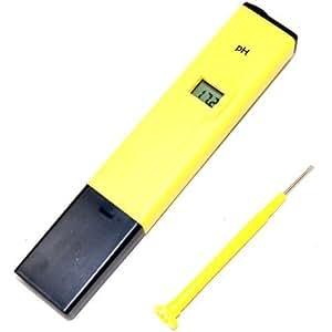 HQRP pH mètre digital de poche pour Hydroponie /Aquitics / Restauration / Bassins