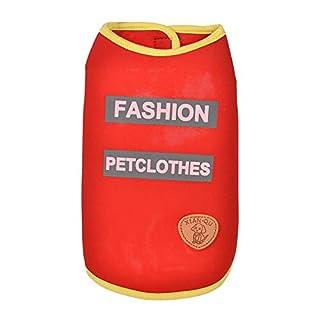 Goldatila Pet Clothes Fashion Pet Clothes Pet Vest Pet Clothes Puppy Round Neck Shirt Healthy Vest Fashion Pet Clothes
