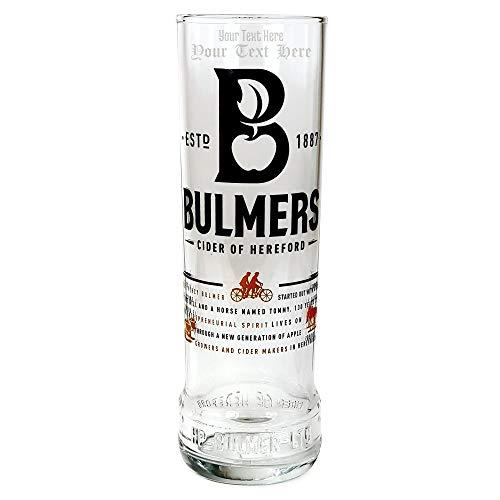 Tuff Luv Ursprüngliche Bierglas / Gläser / Barbedarf [50cl] Personalisiert Für - Bulmers