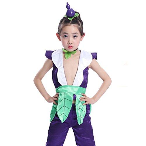 Byjia Kinder-Bühnen-Performance-Kleidung Umwelt Teen Jungen Mädchen Tragen Kinder Chor Gruppe Team Tanz Kostüme 7# 110Cm