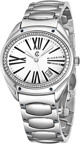 Charriol The Force FLD.140.FL05 - Orologio da polso da donna, con diamante,...