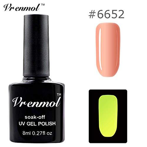 glänzen, Ungiftiger Nagellack 18 Farben Neon Neon Gel Nagellack Watopi ()