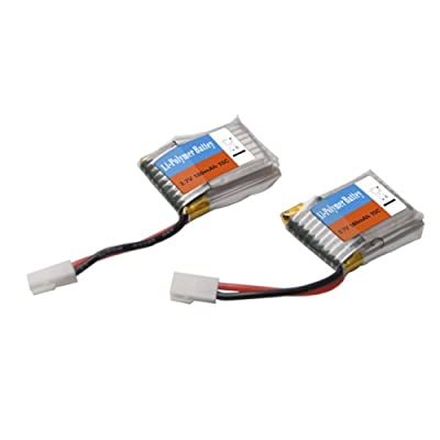 Bluelover HiSKY HCP60 HCP80 WLtoys V933 Helicopter Parts 3.7V 180mAh Battery