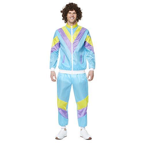 Karnival 822451980Stecker Shell Suit Kostüm, Herren, Multi, groß