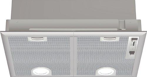 Bosch DHL555B - Campana (Recirculación, 650 m³/h, 36 Db, Incorporado, Plata, 50...