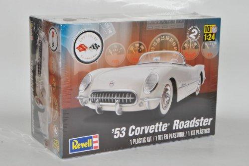 Revell Chevrolet Corvette C1 Cabrio Weiss 1953-1962 85-4057 Bausatz Kit 1/25 1/24 Monogram Modell Auto
