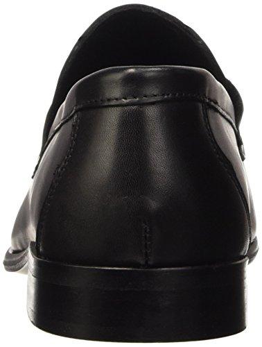 Pierre Cardin Mago, Mocassins Homme Noir (Crust Black)