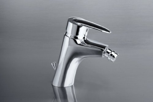 Delta-drain (Bidet mixer with pop-up drain DELTA, chrom)