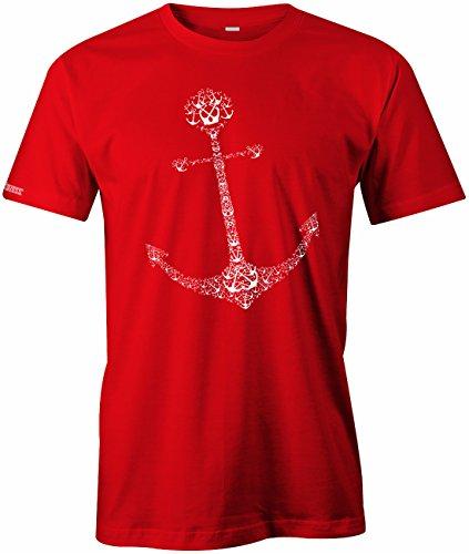 1000 Anker Anchor - Herren T-SHIRT Rot