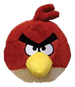angry birds 4 inch mini plush mit sound rot computer zubeh r. Black Bedroom Furniture Sets. Home Design Ideas