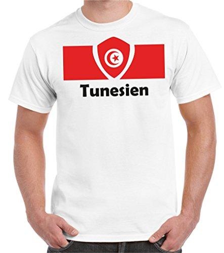 2store24 coppa del mondo 2018 maglietta da uomo bandiera della tunisia taglia s- 5xl oversize