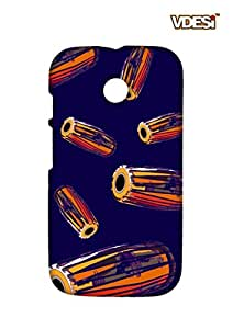 VDESI Designer Matte Back Cover For Motorola Moto E-11540026