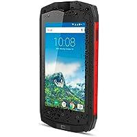 Crosscall Trekker M1 Core Smartphone Portable Débloqué 4G(Ecran: 4,5 Pouces - 16 Go - Double Micro-SIM - Android) Noir/Rouge