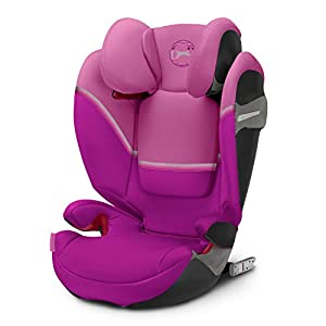 Cybex Solution S-Fix Car Seat, Magnolia Pink   5
