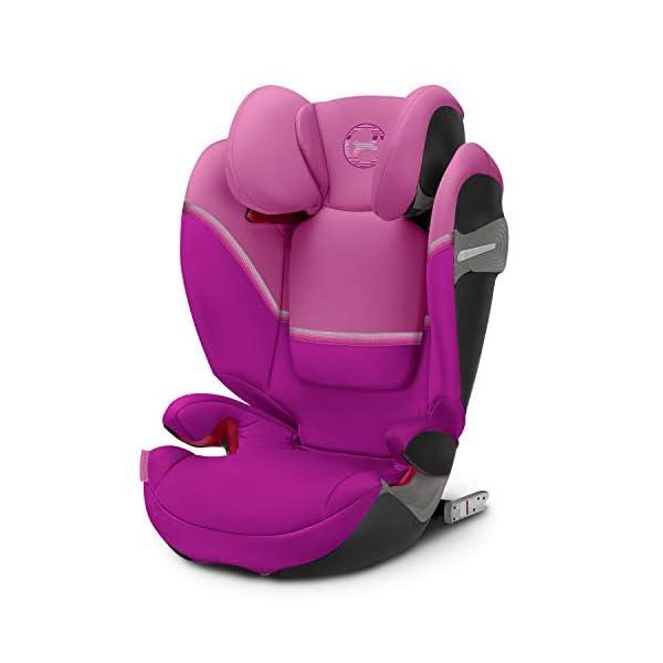 Cybex Solution S-Fix Car Seat, Magnolia Pink Cybex Cybex solution s-fix car seat, magnolia pink Item number: 520000585 Colour: magnolia pink 1