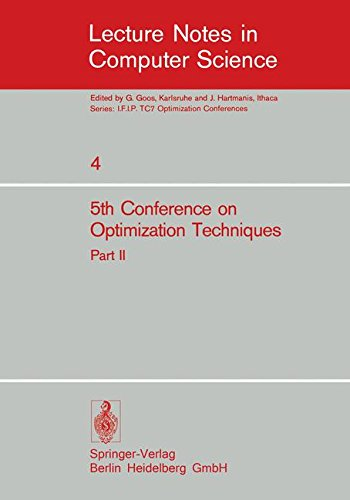 Fifth Conference on Optimization Techniques. Rome 1973: Part 2