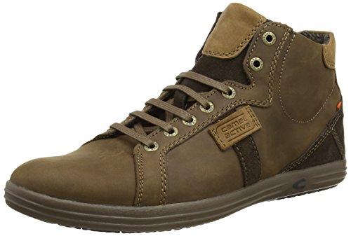 camel active Pier 43 Herren Sneakers Braun (mocca/tobacco)
