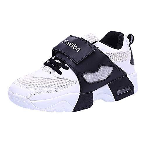 POLPqeD Scarpe Autunno e Inverno da Donna, Scarpe Sportive Piatte Moda Donna Casuali Sneakers Antiscivolo Modelli Traspiranti Sneakers Basse da Donna Scarpe da Corsa Scarpe da Trekking
