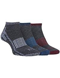 Storm Bloc - 3 pares hombre algodon cortos running deporte / trekking calcetines para andar