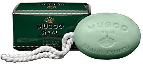 Musgo Real Claus Porto Savon corporel avec corde pour homme 190 g