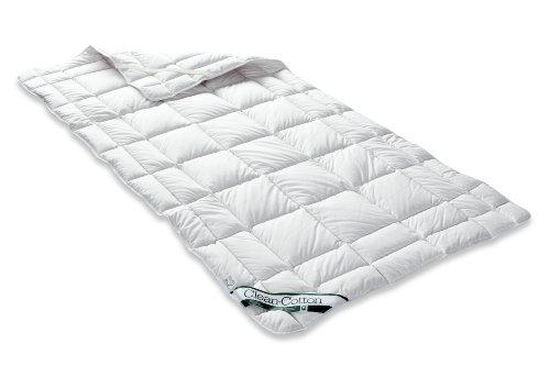 Badenia Bettcomfort Spannauflage Clean Cotton, 120 x 200 cm, weiß
