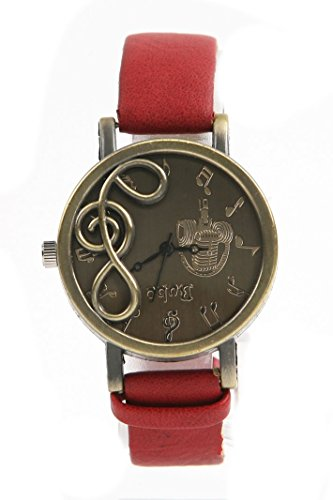 chicmall-new-retro-musical-note-dial-quartz-movement-watch-with-pu-leather-wrist-watch-red