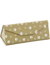 d719faa8680 Vommpe Sunglasses Gase Foldable Eyewear Protection Box for Women Triangle  Shape Cute Patterns PU 1 Pcs