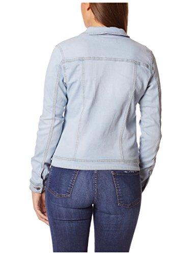Berydale Damen Jeansjacke mit modischer Waschung, Hellblau, Gr. 34 - 2