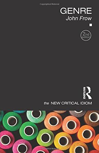 Genre (The New Critical Idiom)