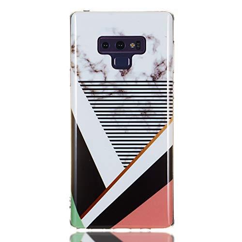 Tosim Galaxy Note 9 Hülle Flex Silikon, Handyhülle Stossfest Kratzfest Weich Schutzhülle Cover Soft Case für Samsung Galaxy Note9 - TOYHU260437 T7