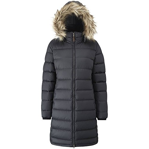 41 SzBnJvZL. SS500  - Rab Women's Deep Cover Parka Duck Down Everyday Warm Slim Fit Jacket Faux-Fur Trim