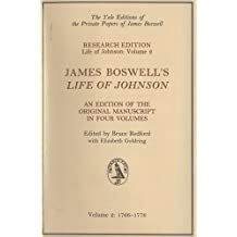 James Boswell's Life of Johnson: Manuscript Edition: 1766-1776