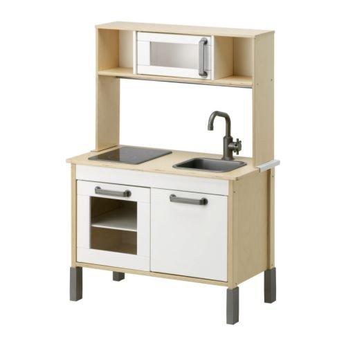 """IKEA Miniküche """"Duktig"""" INKL. Oberteil - MITWACHSENDE Spielküche aus Holz - ab 3 Jahre"""