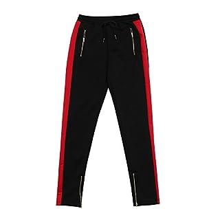 Aiserkly Männer Hosen Harem Sweatpants Slacks Casual Jogger Sportwear Baggy Comfy Pant Rot 2XL