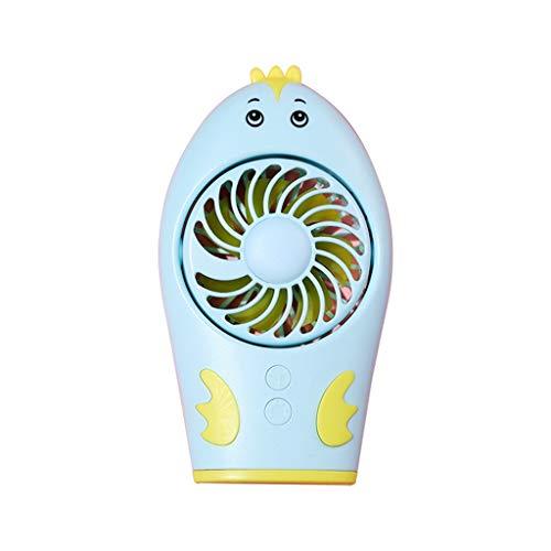 table USB Rechargeable Hand Held Air Conditioner Summer Cooler Fan Gang-Modus Elektrischer Schreibtisch Tischventilator für Zuhause ()