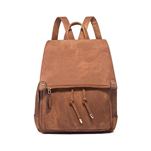 Tisdaini Damen Rucksackhandtaschen modische Reise Freizeit Schulrucksack