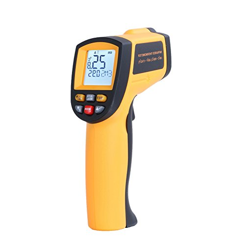 Rgbs senza contatto palmare digitale lcd ir temperatura termometro a infrarossi gun tester gm700gradi c gamma di misura -50℃ a 700℃ (-50°c a 700°c)