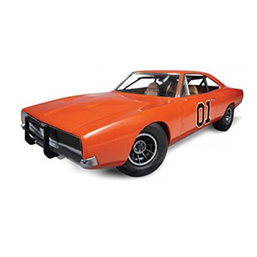 Mpc the dukes of hazzard, general lee dodge charger, kit per modellismo, scala 1/25