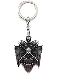 Gratitude Harley Davidson Motorcycle Metallic Keychain / Key Chain / Keyring / Key Ring