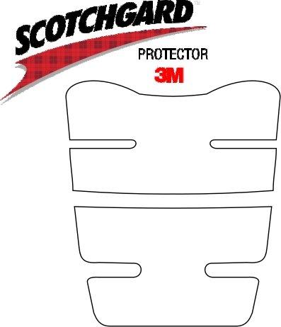 3M Lackschutz Folie Tankschutz-Set für Motorrad Nr.4 transparent (160x200mm)
